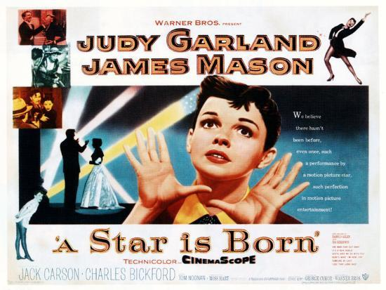 Judy Garland - A Star Is Born Movie Poster 1954