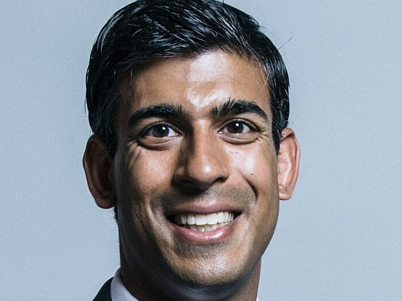 Rishi Sunak - UK Chancellor