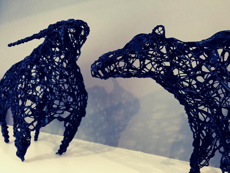 Bull & Bear - Linda Hoyle 2018